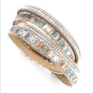 Rhinestones & Crystals Bracelet